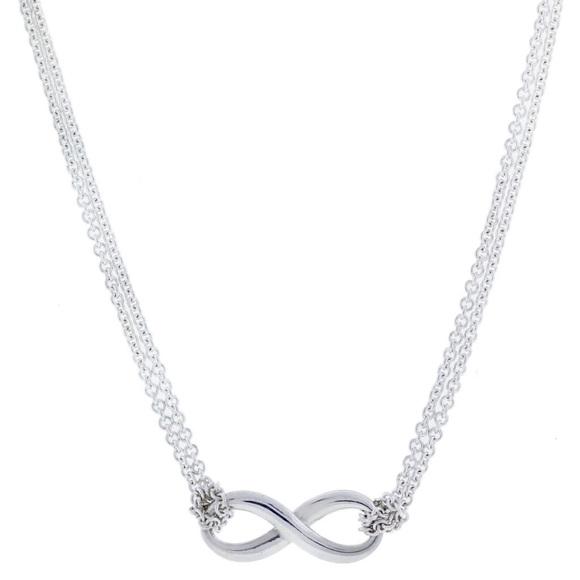 da6c9a44b Tiffany & Co Silver Infinity Double Chain Necklace.  M_5c451ae712cd4aed4da23d4c